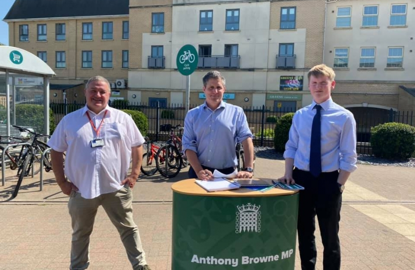 Anthony Browne MP Cambourne South Cambridgeshire Mark Howell
